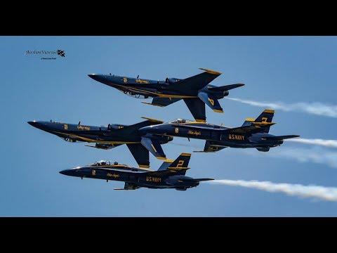 US Navy Blue Angels @ 2017 Pensacola Beach Air Show