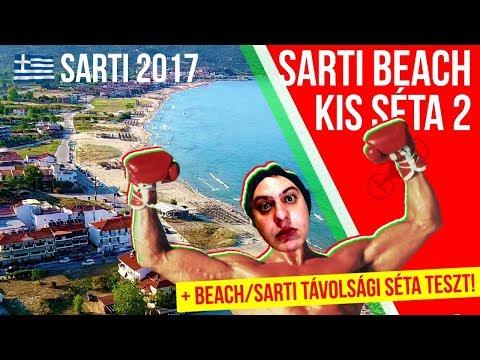 Sarti Beach 2017, egy kis séta (2.rész) 🎞