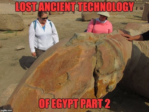 Lost Ancient High Technology Of Egypt 2017 Update: Tanis And Aswan