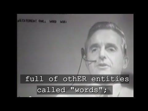 cc MOTHER OF ALL DEMOS - Douglas Engelbart