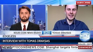 Interview with Tomas Draksas, Co-Founder of Edgeless Casino