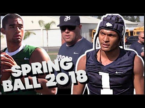🔥🌴 St. John Bosco (CA) - Puttn in WORK !!! Spring Ball 2018