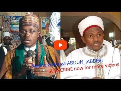 Download Nisiha Zuwaga DAN-TAMORE Abduljabbar Nasiru Kabara Kano. Daga bakin Abulfathi Sani Attijany.