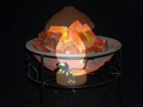 Quality Of Salt Lamps : Himalayan Rock Salt Lamps - YouTube