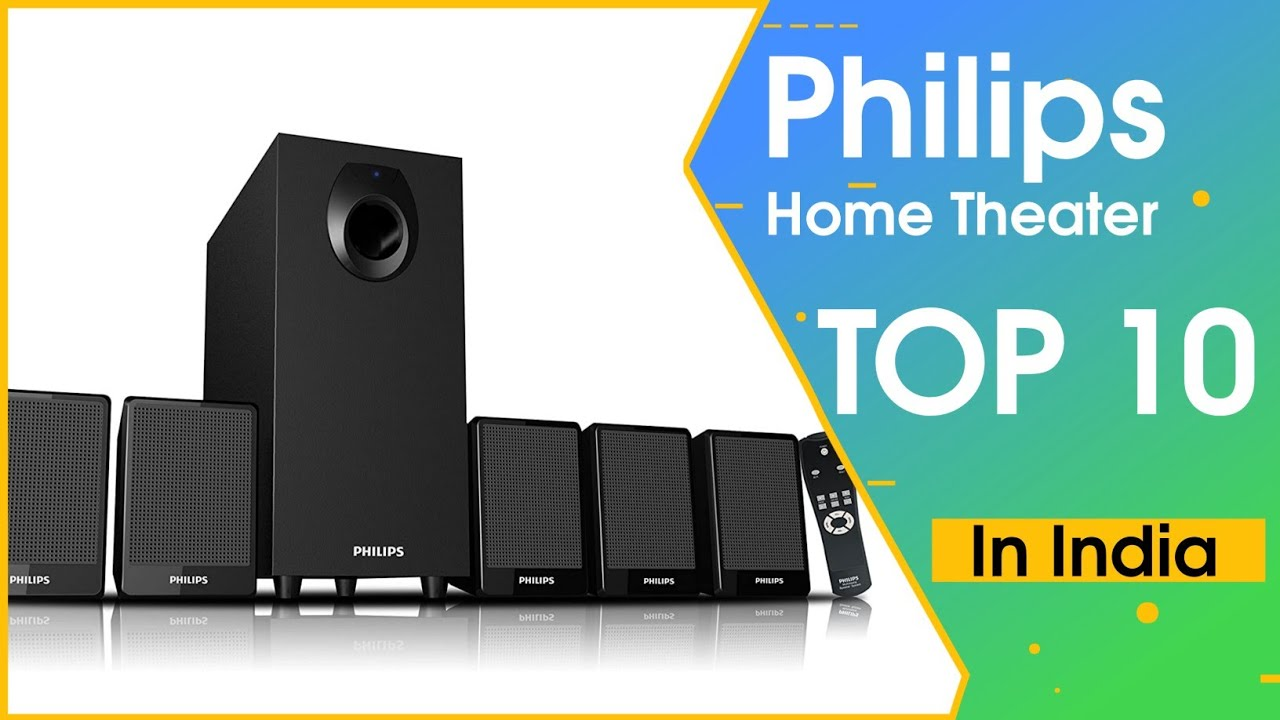 Top 10 Best Philips Home Theater System And Multimedia Speakers || In India - YouTube