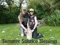 Summer Solstice 2014 Ireland Crystal Grid & Ceremony