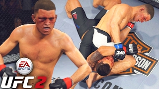 I Apologize - Nate Diaz Runs It Back RIGHT! Inverted Triangles! EA Sports UFC 2 Ranked Gameplay