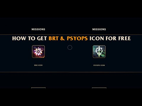 How to get BRG and PsyOps Icon for free   League of Legends   Arikaze
