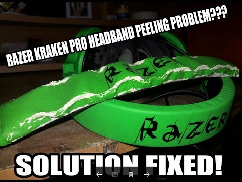 Razer Kraken Pro Headband Replacement Tutorial
