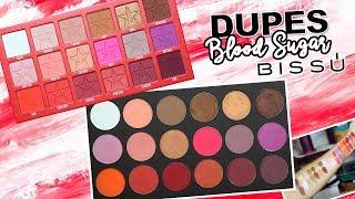 DUPES CON BISSÚ: BLOOD SUGAR de Jeffree Star Cosmetics / Individuales y Cuartetos   Karla Burelo :)