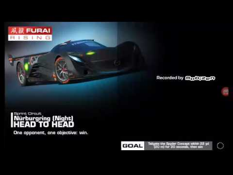 REAL RACING 3 MAZDA FURAI Night