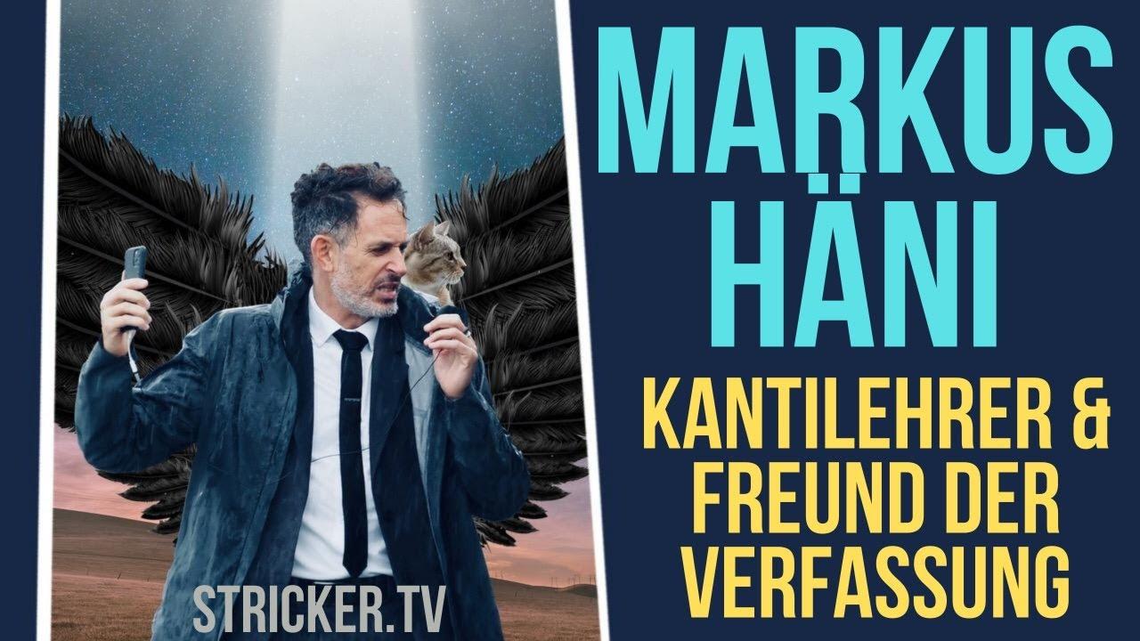 Markus Häni – freigestellter Kantilehrer und Vorstandsmitglied von Freunde der Verfassung