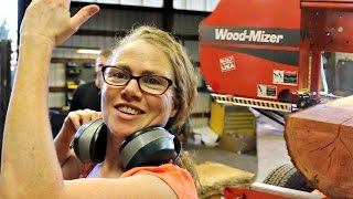 Wood Mizer Sawmill - How To Talk Your Wife Into Buying A Wood Mizer