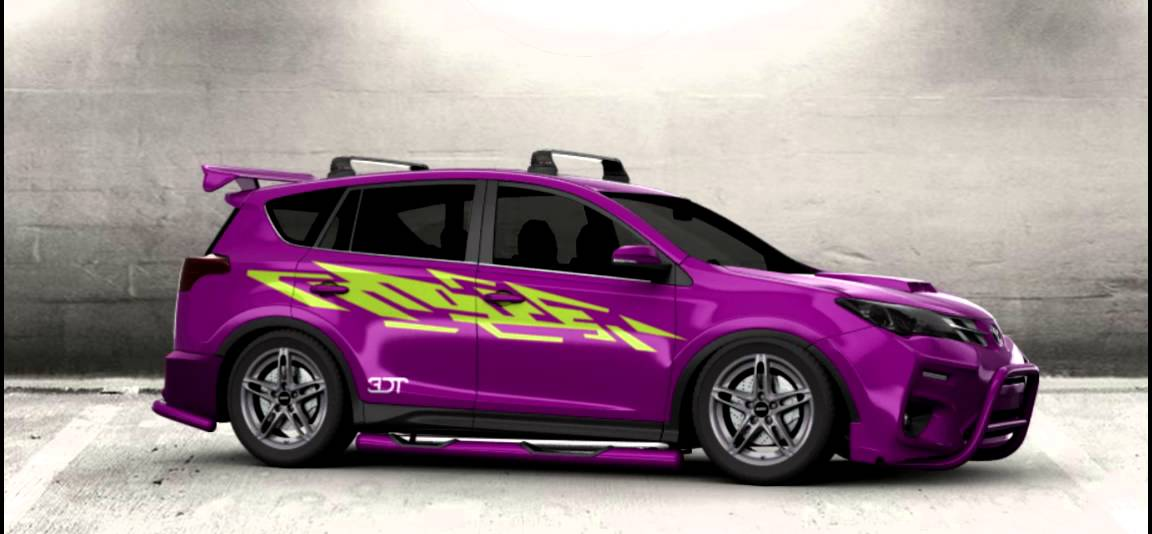 2017 extreme tuning toyota rav4 youtube. Black Bedroom Furniture Sets. Home Design Ideas