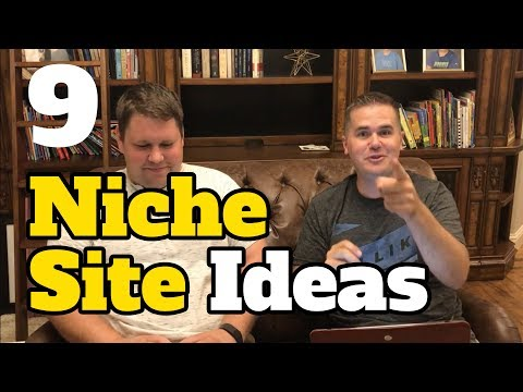 9 Niche Site Ideas for Passive Income