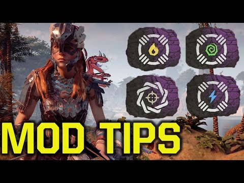 Horizon Zero Dawn tips and tricks - MOD TIPS (Horizon Zero Dawn tipps - Horizon Zero Dawn mod tips)