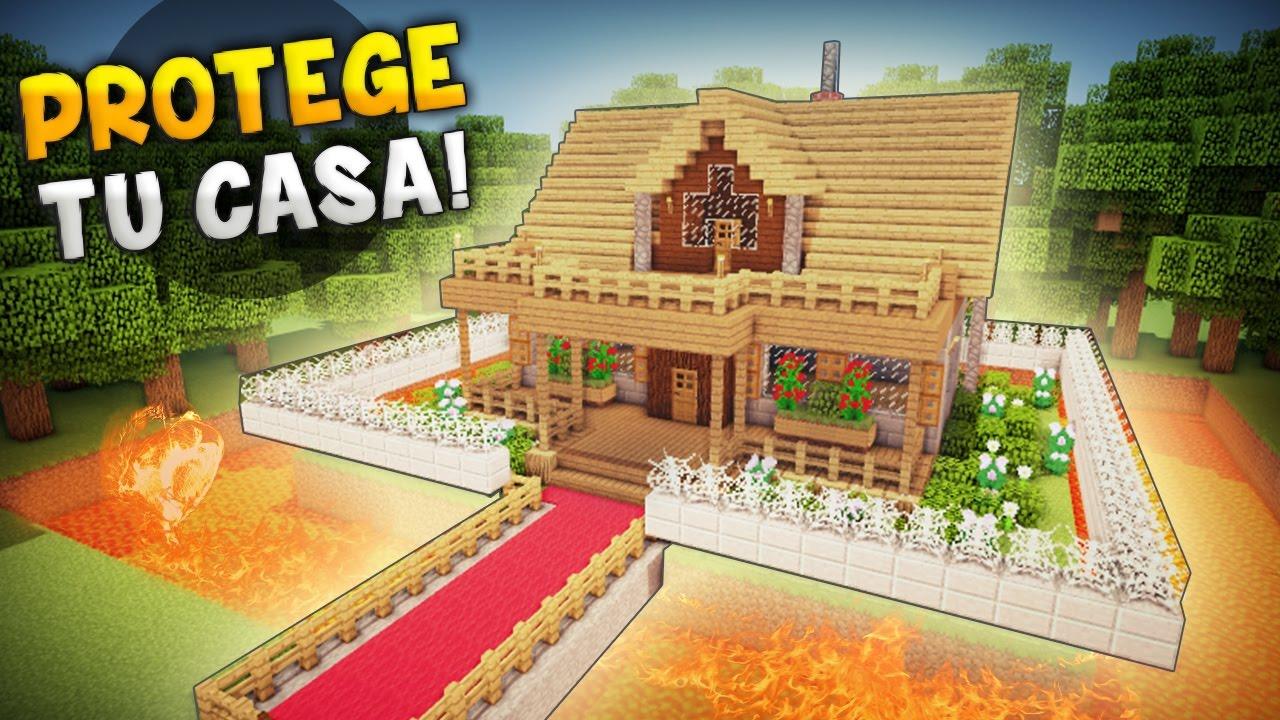Minecraft maneras geniales para hacer tu casa super - La casa mas segura del mundo ...