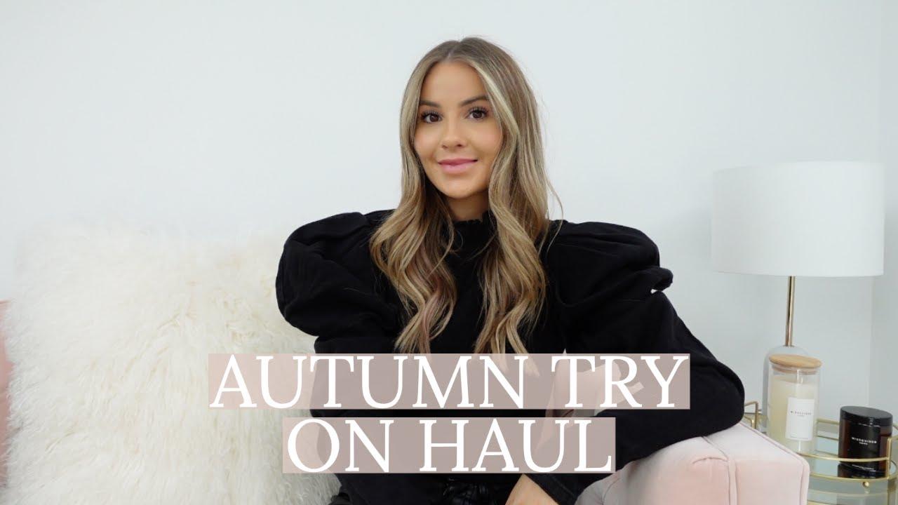 AUTUMN HAUL | BASICS, COATS, LOUNGEWEAR + MORE | NADIA ANYA ad