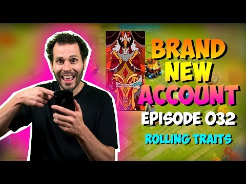 NEW ACCOUNT Episode 32: 50,000 Gems On Traits!