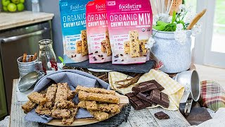 Sarah Michelle Gellar's Chocolate Coconut Chewy Oat Bars - Home & Family
