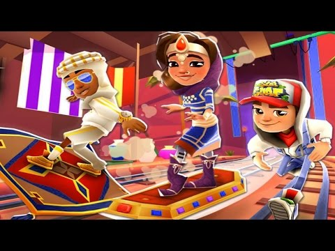Subway Surfers Arabia Android Gameplay #13