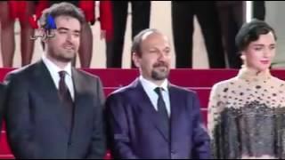 حاشیه های جشنواره کن با حضور ترانه علیدوستی ,شهاب حسینی ,اصغر فرهادی