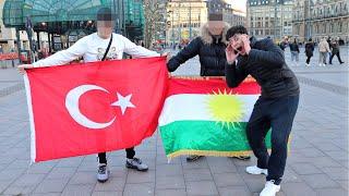 Stehen FRAUEN auf KURDEN oder TÜRKEN ? 🤔 | 🇹🇷🇹🇯 Türkei vs. Kurdistan