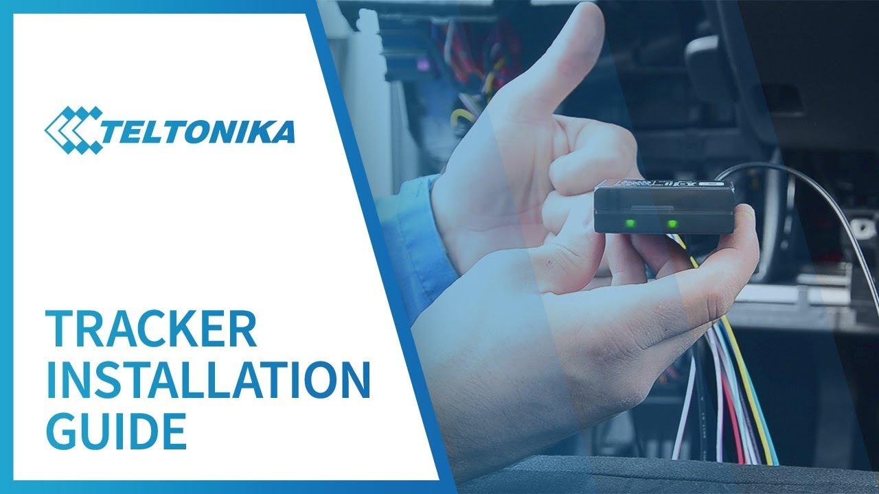 teltonika tracker installation guide youtubeteltonika tracker installation guide