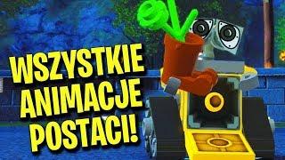 LEGO INIEMAMOCNI - WSZYSTKIE ANIMACJE POSTACI - ALL CHARACTERS ANIMATIONS