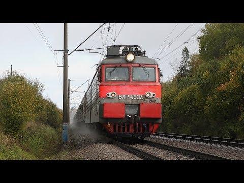 """Электричка """"Александров - Мытищи"""", опрокинутый поездом штатив с камерой и прочие интересности."""