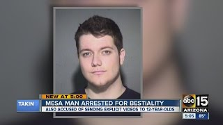 Mesa man arrested for bestiality