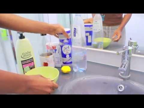 Cheveux secs et ternes shampoing clarifiant bicarbonate de soude et vinaigre de cidre - Nettoyer four bicarbonate de soude vinaigre ...