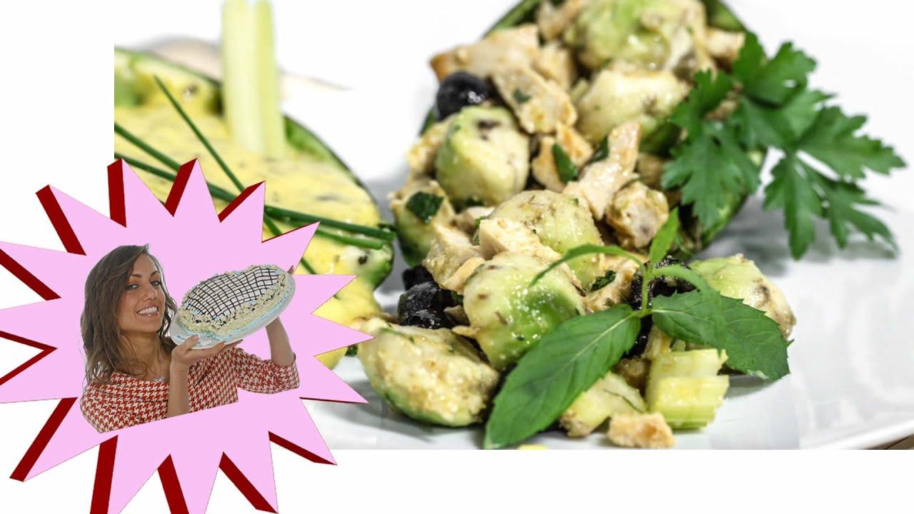 Insalata di Pollo con Avocado e Maionese Light alle Verdure Le Ricette di Alice