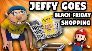 SML Parody: Jeffy Goes Black Friday Shopping!
