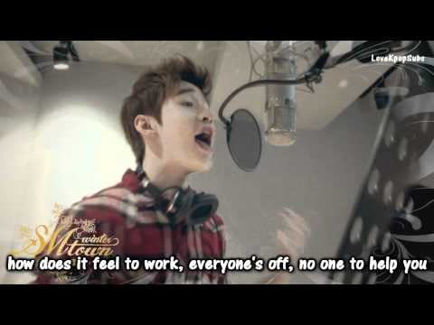 Super Junior - Santa you are the one MV [Eng lyrics] HD