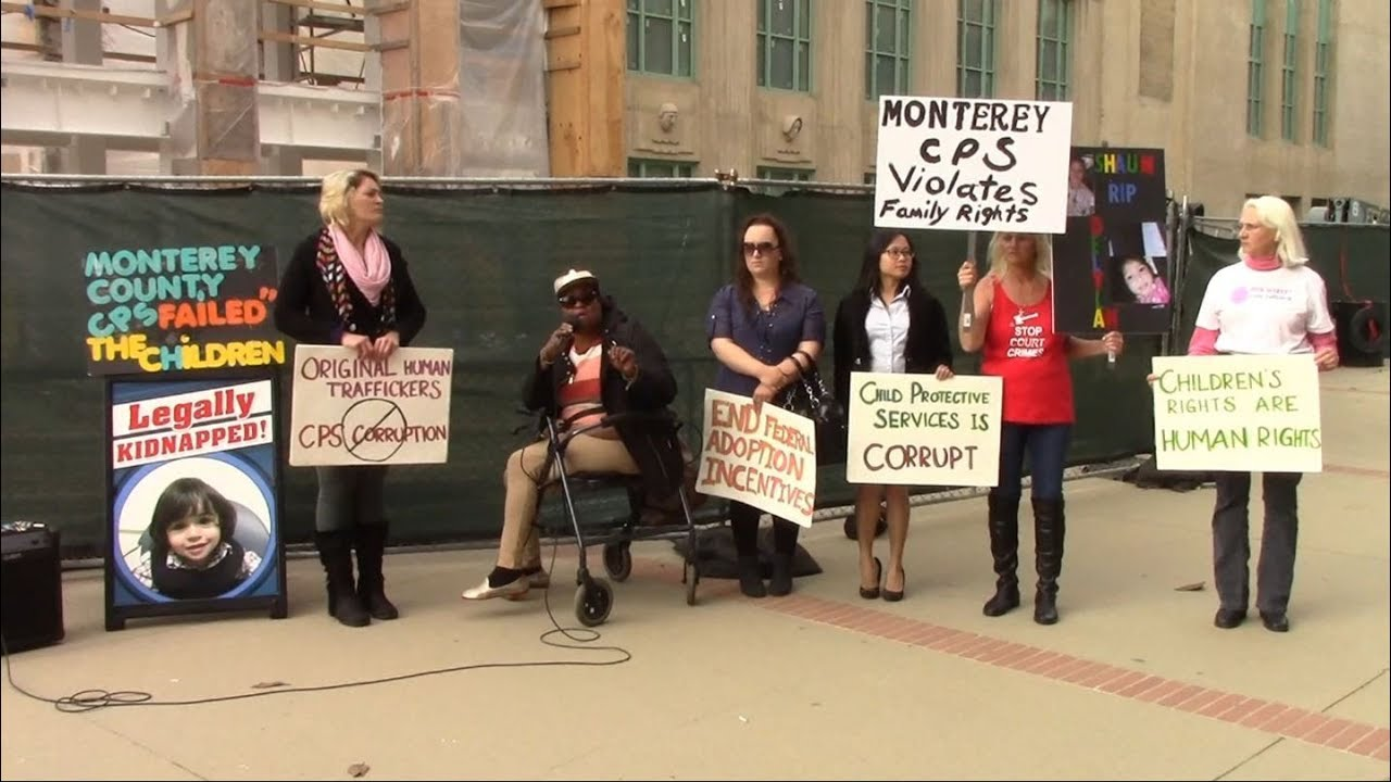 Parents Against CPS Corruption Protests Monterey County