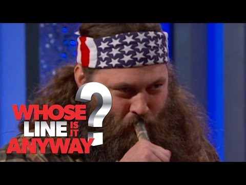 Cooking With Duck Dynasty's Willie Robertson - Whose Line Is It Anyway? US