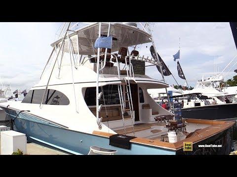 2018 Spencer 74 Sport Yacht - Walkaround - 2018 Fort Lauderdale Boat Show