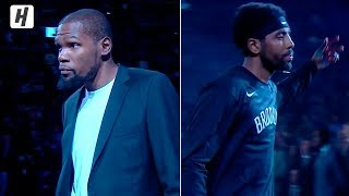 Kyrie Irving & Kevin Durant Get Introduced for Brooklyn Nets | October 23, 2019-20 NBA Season