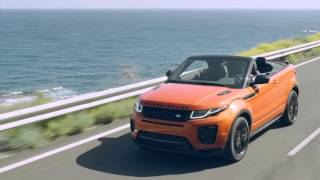 Range Rover Evoque Convertible - Video Debut