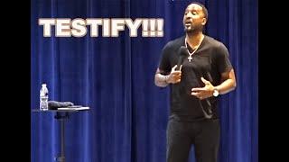 Testify | Pastor Kevin Swann