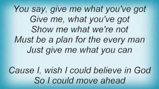 Europe - Wish I Could Believe Lyrics