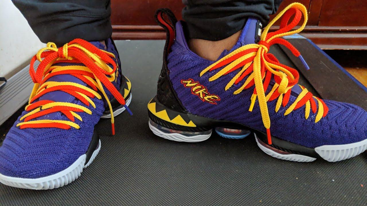 Lady and Her Kicks: LeBron 16 Martin