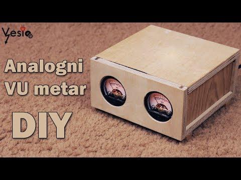 Kako napraviti analogni VU metar DIY
