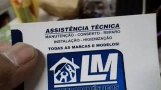 LM assistencia técnica consertando aquecedor mondial