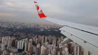 1st landing gol airlines new aircrfat pr gxz cgh