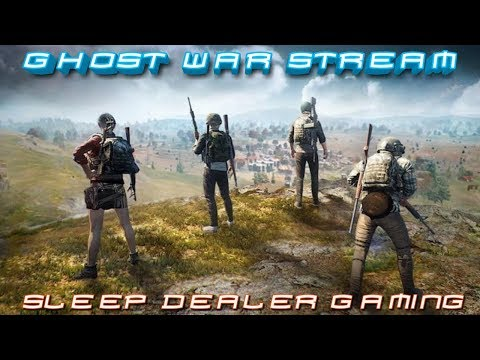 GHOST WAR SLEEP---DEALER Live:WHAT NEXT? SUB AT A CHANCE TO WIN A FREE SCUFF