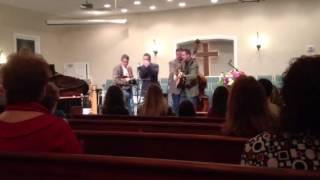 Wayfaring Stranger - Cross Ties Band 1-20-2013