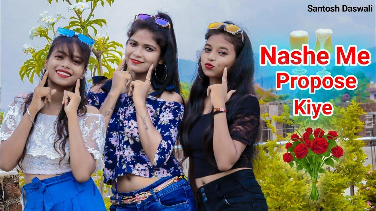 Nashe Me Propose kiye🌹Singer-Vicky kachhap / New Nagpuri Sadri dance video 2020 / Santosh Daswali