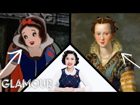 Fashion Expert Fact Checks Snow White's Costumes | Glamour